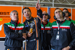 Gianluca Roda, Paolo Ruberti and Amato Ferrari