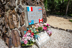D-Day in Le Mans: the Canadian Monument remembering fallen heroes, between Mulsanne and Indianapolis