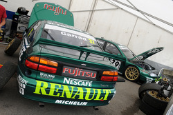 A pair of 1999 BTCC Renault Laguna