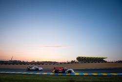 #46 Thiriet By TDS Racing Ligier JS P2 - Nissan: Pierre Thiriet, Ludovic Badey, Tristan Gommendy, #3 Audi Sport Team Joest Audi R18 E-Tron Quattro: Filipe Albuquerque, Marco Bonanomi, Oliver Jarvis