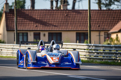 Two-seater prototype Le Mans experience rides before the qualifying session