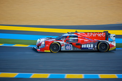 #46 Thiriet by TDS Racing Ligier JS P-Nissan: Pierre Thiriet, Ludovic Badey, Tristan Gommendy