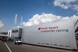 Audi Sport transporter