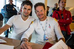 Pierre Kaffer and Felix Baumgartner