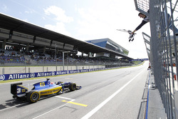 Felipe Nasr takes the win