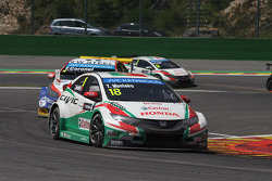WTCC: Tiago Monteiro, Honda Civic WTCC, Castrol Honda WTCC Team