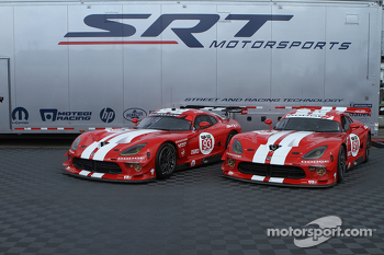 Presentation of the retro livery on the Viper