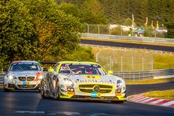 #15 HTP Motorsport Mercedes-Benz SLS AMG GT3: Harold Primat, Maximilian Götz, Kenneth Heyer, Roland Rehfeld