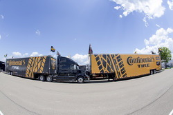 Continental tires haulers
