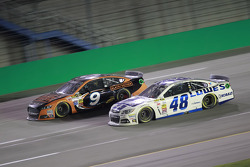 Marcos Ambrose and Jimmie Johnson