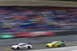 Mike Rockenfeller, Audi Sport Team Phoenix Audi RS 5 DTM hunts Maxime Martin, BMW Team RMG BMW M4 DTM