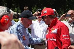 John Surtees and Kimi Raikkonen