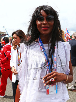 Naomi Campbell, on the grid