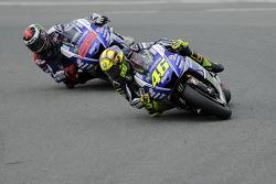 MOTOGP: Valentino Rossi and Jorge Lorenzo