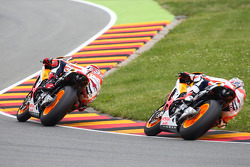 MOTOGP: Marc Marquez and Dani Pedrosa