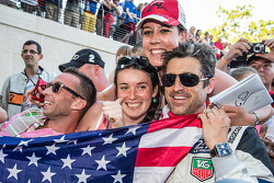 LEMANS: The usual craziness surounding Patrick Dempsey