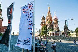 Moscow City Racing at the Kremlin