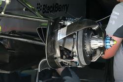 F1: Mercedes GP brake system