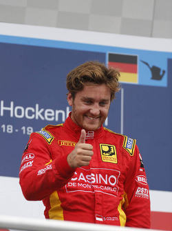 GP2: Podium: race winner Stefano Coletti