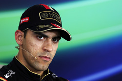 F1: Pastor Maldonado, Lotus F1 Team in the FIA Press Conference
