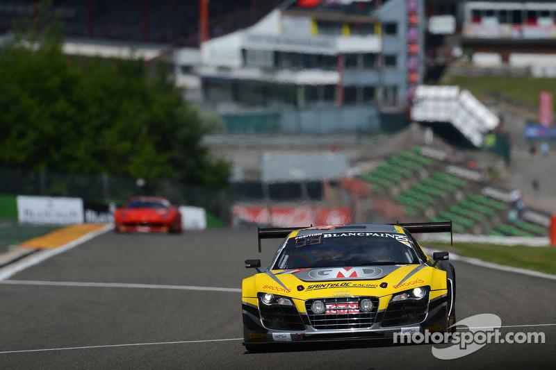 #25 Saintéloc Racing Audi R8 LMS ultra: Jean-Paul Buffin, Claude-Yves Gosselin, Philippe Haezebrouck, Marc Rostan