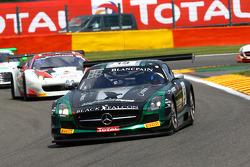 #19 Black Falcon Mercedes SLS AMG GT3: Abdulaziz Al Faisal, Hubert Haupt, Andreas Simonsen