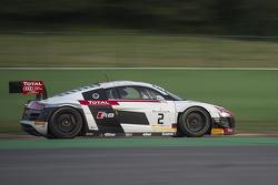#2 Belgian Audi Club Team WRT Audi R8 LMS Ultra: Marcel Fässler, Andre Lotterer, Benoit Tréluyer
