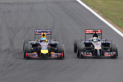 Sebastian Vettel, Red Bull Racing and Jean-Eric Vergne, Scuderia Toro Rosso