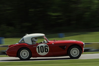 #106 1957 Austin Healey 100/6: Jim Gregg