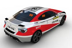 Toyota GT86 CS-R3 artist rendering