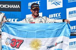 Winner Jose Maria Lopez, Citroen C-Elysée WTCC, Citroen Total WTCC