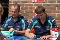 Airwaves Racing duo Fabrizio Giovanardi and Mat Jackson