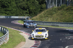 #6 Rowe Racing Mercedes SLS AMG GT3: Michael Zehe, Jan Seyffarth