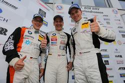 Second place Dominik Baumann, Thomas Jäger, Max Sandritter