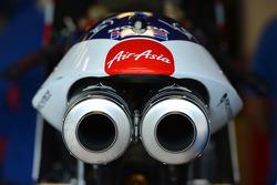 MotoGP exhaust detail