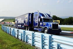 Hauler of Jmmie Johnson, Hendrick Motorsports Chevrolet