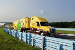 Hauler of Kyle Busch, Joe Gibbs Racing Toyota