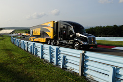 Hauler of Marcos Ambrose, Richard Petty Motorsports Ford