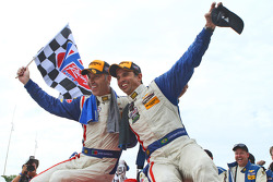 TUSC: Race winner Joao Barbosa and Christian Fittipaldi celebrate