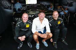 Albert von Thurn und Taxis, Tomas Enge with WRC driver Martin Prokop