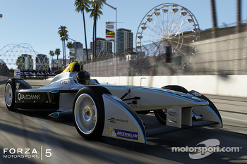 Formula E featured in Forza Motorsport