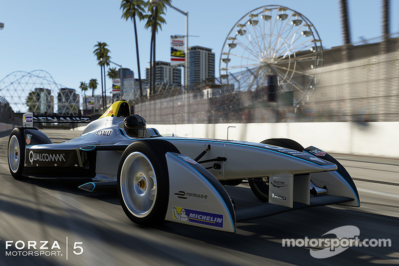 The Spark-Renault SRT_01E to be featured in Forza Motorsport 5