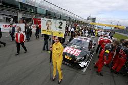 Gridgirl of  Timo Scheider, Audi Sport Team Phoenix Audi RS 5 DTM