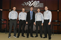Denny Hamlin, Matt Kenseth, Carl Edwards, Daniel Suarez and Kyle Busch