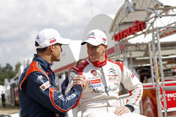 Daniel Sordo and Kris Meeke