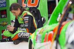 NASCAR-CUP: Danica Patrick, Stewart-Haas Racing Chevrolet