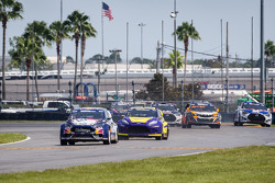 Start: #31 Olsbergs MSE Ford Fiesta ST: Joni Wiman leads the field