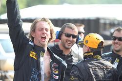 TRG-AMR crew celebrates