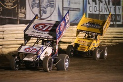 Donny Schatz and Joey Saldana