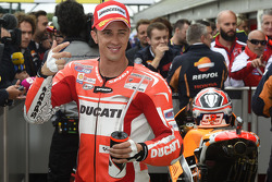 Second place qualifying for Andrea Dovizioso, Ducati Team